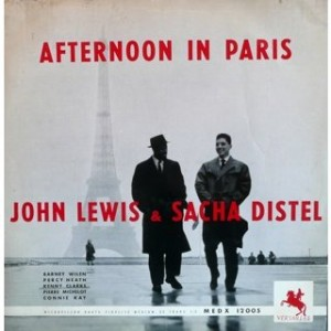 John Lewis & Sacha Distel - Afternoon in Paris
