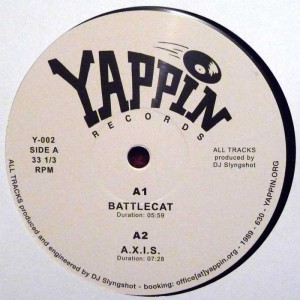 DJ Slyngshot - Battlecat EP